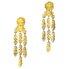 Dior Gold Clip-On Earrings