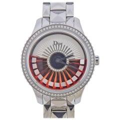 Dior Grand Bal Plisse Ruban Diamond MOP Automatic Watch CD153B10M004