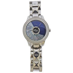 Dior Grand Bal Plisse Soleil Mother of Pearl Diamond Watch CD153B10M002
