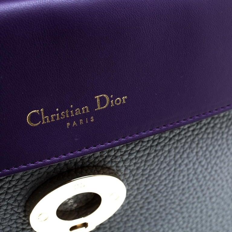 Dior Grey Leather Small Be Dior Shoulder Bag 6