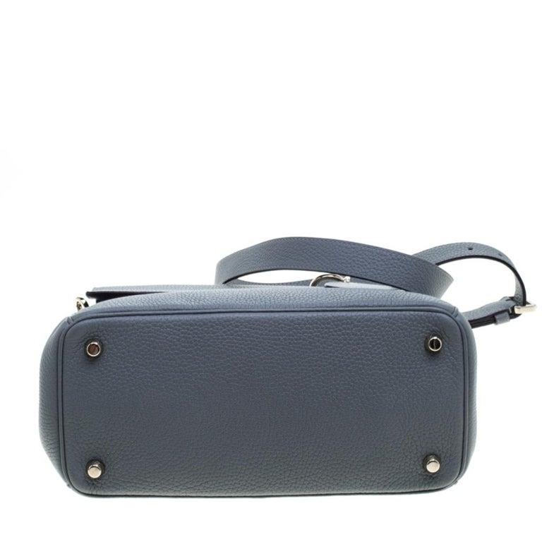 Dior Grey Leather Small Be Dior Shoulder Bag 1
