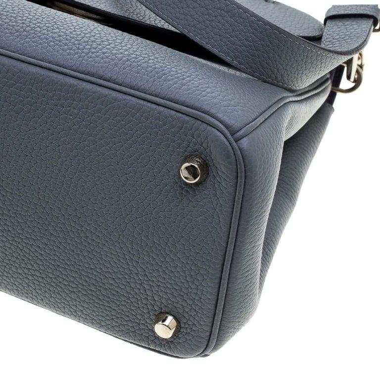 Dior Grey Leather Small Be Dior Shoulder Bag 3