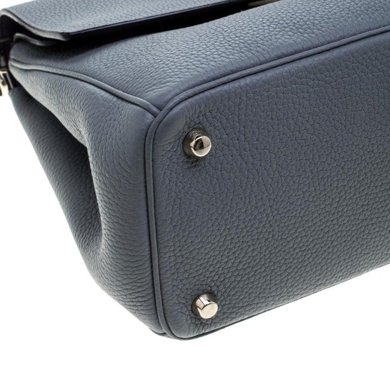 Dior Grey Leather Small Be Dior Shoulder Bag 5