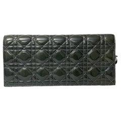 Dior Grey Vernice Lady Bag