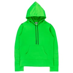 """Dior Homme AW2003 """"Luster"""" Neon Hoodie"""