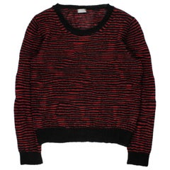 """Dior Homme AW2007 """"Navigate"""" Striped Mohair Sweater"""