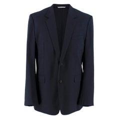 Dior Homme Navy Wool Blazer SIZE 52