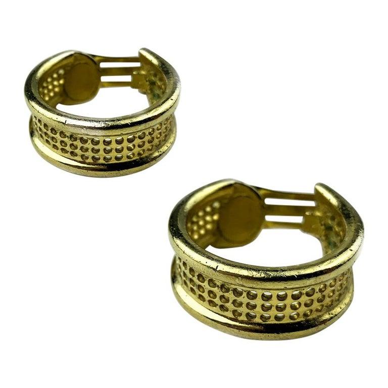 DIOR Hoop Clips Earrings For Sale