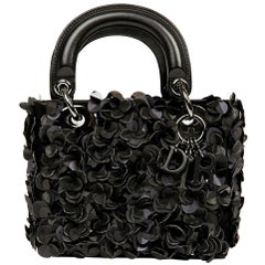 Dior Lady D Black Leather Bag