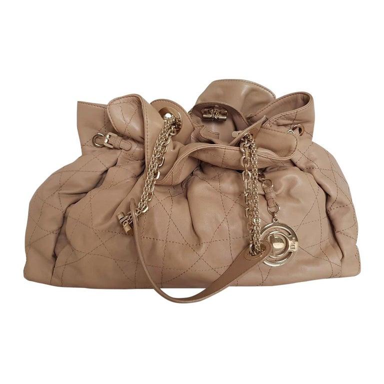 Dior Leather Handbag For Sale