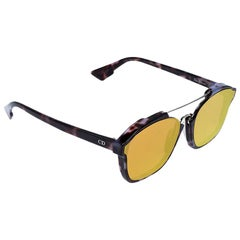 Dior Mauve Havana/Orange Flash Mirror YH0A1 Dior Abstract Sunglasses