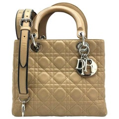 Dior Medium Lady Dior - Beige