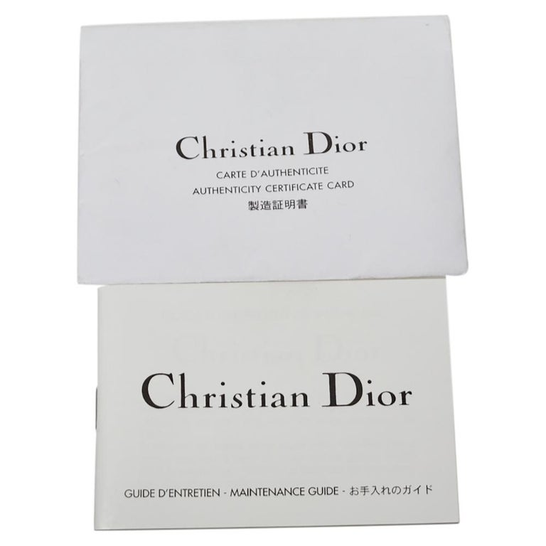 Dior Metallic Olive Green Glossy Leather Vintage Malice Pearl Shoulder Bag For Sale 6