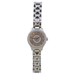 Dior Mini VIII Diamond Steel Watch CD151111M002