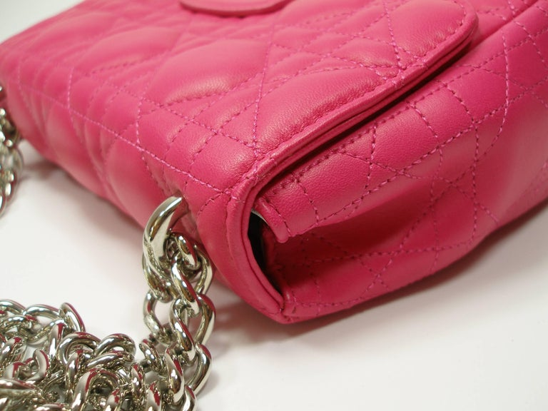 Dior Miss Dior Bag pink cannage Leather Small  Size / BRAND NEW 6