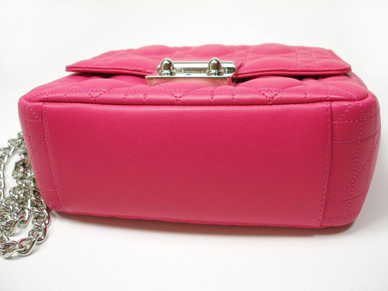 Dior Miss Dior Bag pink cannage Leather Small  Size / BRAND NEW In New Condition In VERGT, FR