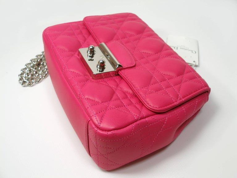 Dior Miss Dior Bag pink cannage Leather Small  Size / BRAND NEW 1