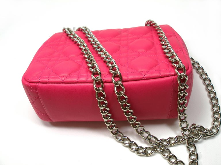 Dior Miss Dior Bag pink cannage Leather Small  Size / BRAND NEW 2