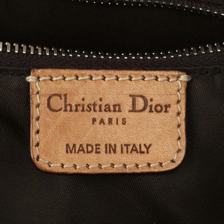 Dior Monogram Trotter Romantique Satchel For Sale 9