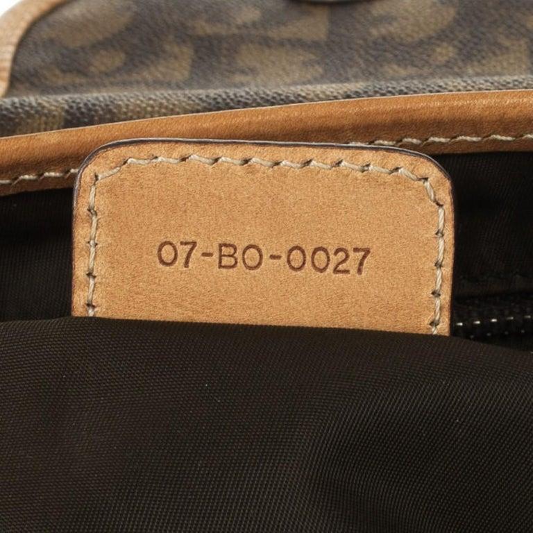 Dior Monogram Trotter Romantique Satchel For Sale 10