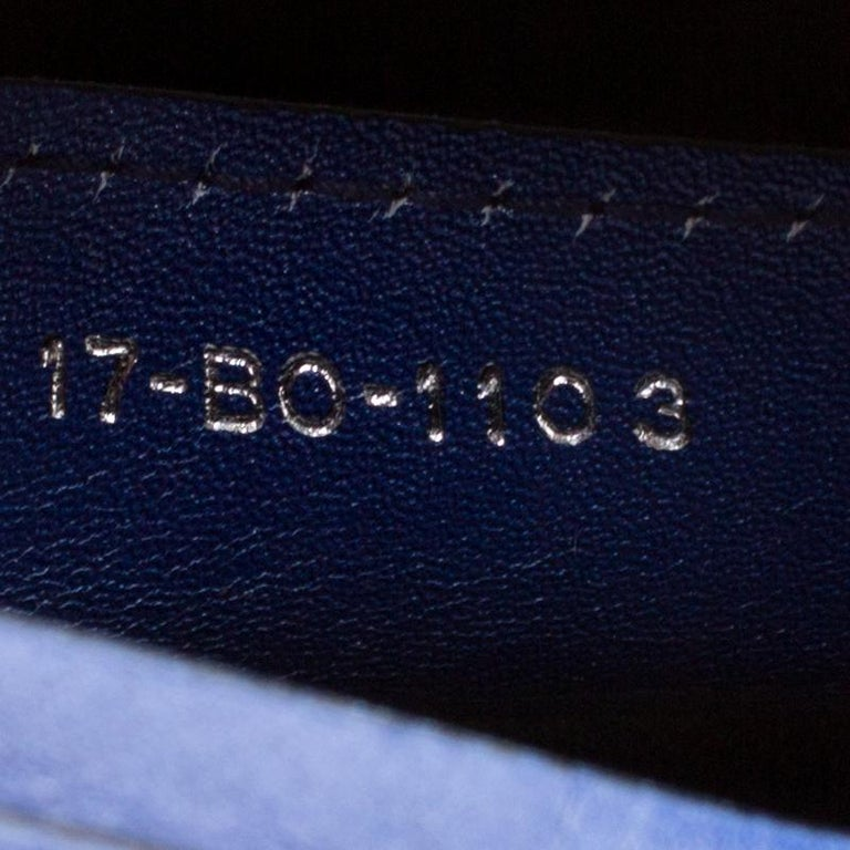 Women's Dior Multicolor Leather Medium Ombre Lady Dior Tote For Sale