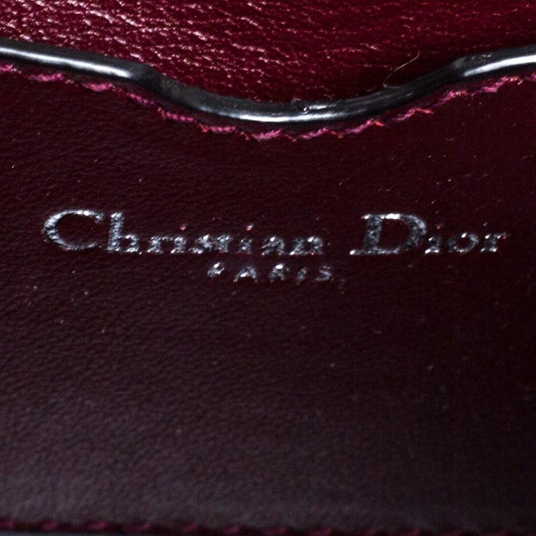 Dior Multicolor Leather Micro Be Dior Flap Bag For Sale 2