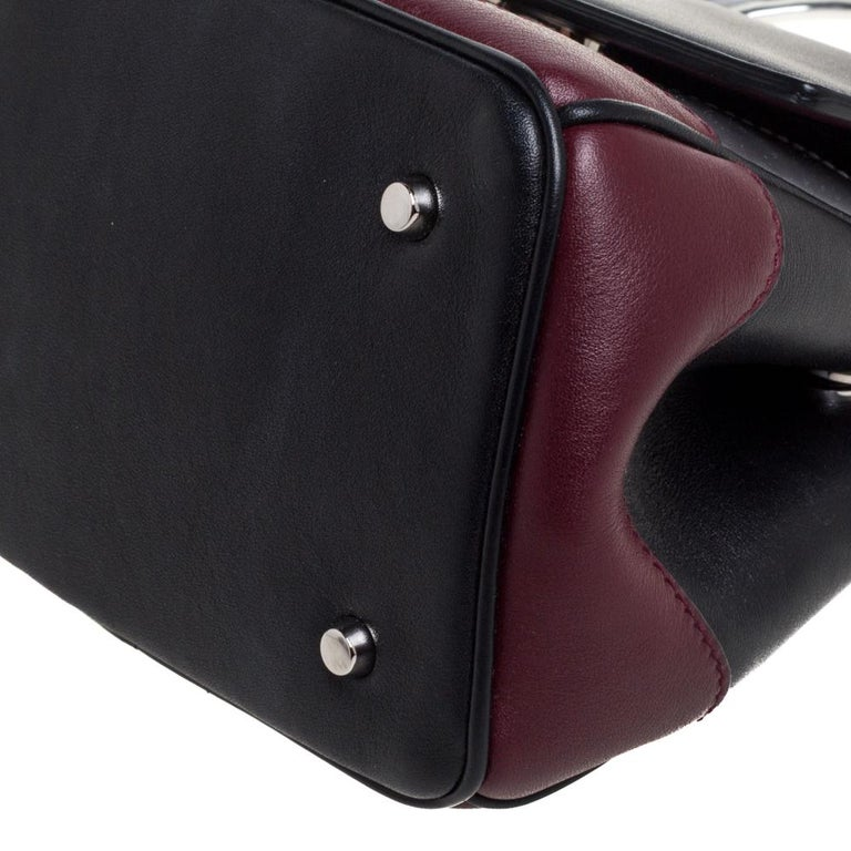 Dior Multicolor Leather Micro Be Dior Flap Bag For Sale 4