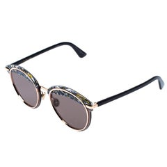 Dior Multicolor Printed Offset1 Cat Eye Sunglasses