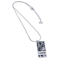 DIOR Necklace Vintage Y2K Trotter Pendant