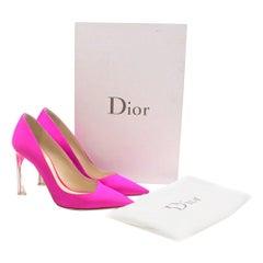 Dior Neon Pink Perpex Pumps SIZE 36