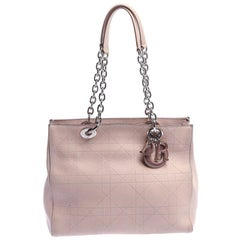 Dior Nude Beige Cannage Leather Ultra Dior Tote
