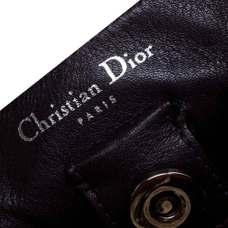 Dior Old Rose Leather Medium Diorissimo Shopper Tote For Sale 4