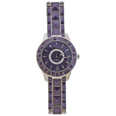 Dior Purple Christal Diamond Automatic Watch CD144512M001