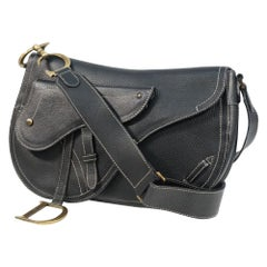 Dior saddle bag Womens shoulder bag black