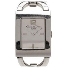 Dior Silver Stainless Steel Malice Women's Wristwatch 20MM