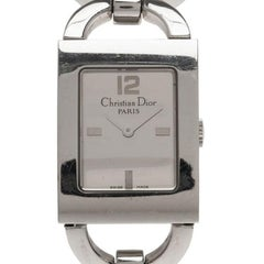 Dior Silver Stainless Steel Malice Women's Wristwatch 20MM