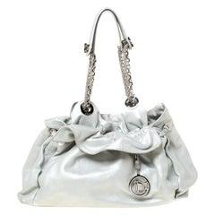 Dior Silver Suede Le Trente Hobo