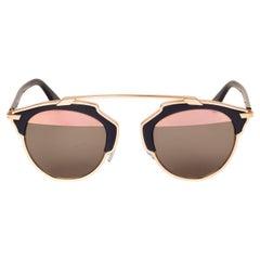 Dior So Real (U5WZJ) Blue & Gold Sunglasses