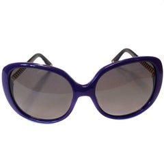 DIOR SUNGLASSES, Model Ever 1, in Purple Plexi and Gold Metal