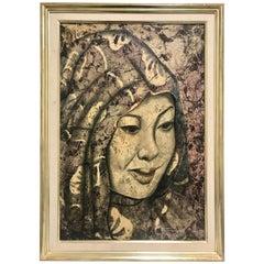 Dior Vargas Batik Painting