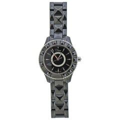 Dior VIII Black Ceramic Diamond Watch CD1231E0C002