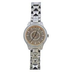 Dior VIII Peach Dial Diamond Watch CD152110M006
