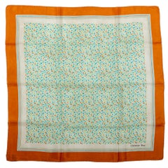 Dior Vintage Abstract Small Silk Scarf