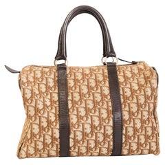 Dior Vintage Oblique Beige Boston 30 Bag
