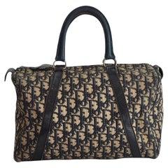 Dior Vintage Trotter Boston Bowler 30 Bag