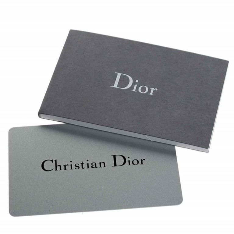 Dior White Patent Leather Small Diorama Flap Shoulder Bag For Sale 4