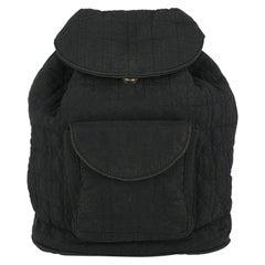 Dior Woman Backpacks Black Fabric