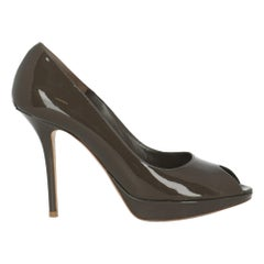 Dior Women  Pumps Brown Leather IT 41