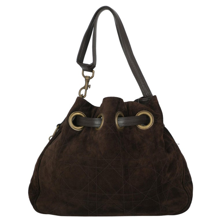 Dior Women  Shoulder bags Brown Leather For Sale