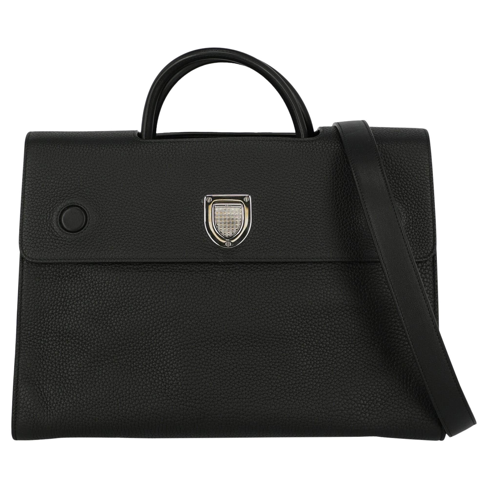 Dior Women's Diorever Black Leather